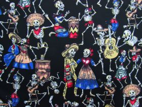 Great value Day Of The Dead Cotton #PW1224 available to order online New Zealand