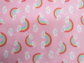 Great value Happy Rainbow Cotton- Pink #PW1205 available to order online New Zealand