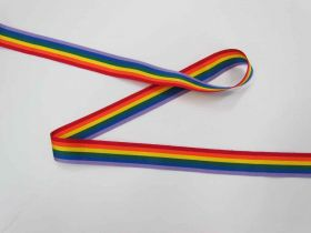 Great value Rainbow Ribbon- 25mm available to order online New Zealand