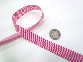 Great value Candy 15mm- Fuchsia / White available to order online New Zealand