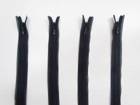 Great value 25cm Invisible Zip Bundle- 4 for $5- Navy TRW30 available to order online New Zealand