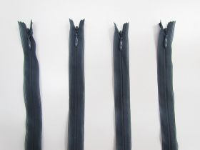 Great value 20cm Invisible Zip Bundle- 4 for $5- Steel Blue TRW34 available to order online New Zealand