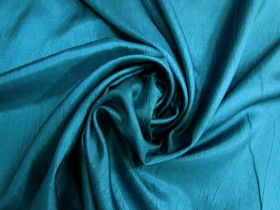 Great value Lightweight Crinkle Polyester- Jewel Teal #4989 available to order online New Zealand