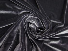Great value 2 Way Stretch Velvet- Slate #4996 available to order online New Zealand
