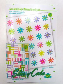 Great value A Slice Of Cake Quilt Pattern by Me and My Sister available to order online New Zealand