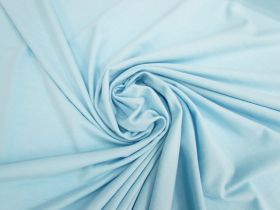 Great value Cotton Blend Spandex- Tranquil Blue #5008 available to order online New Zealand