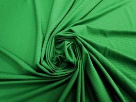 Great value Sports Eyelet Spandex Jersey- Lush Green #5019 available to order online New Zealand