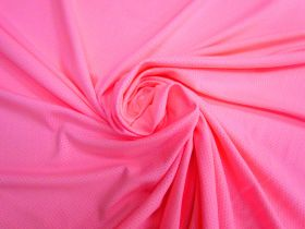 Great value Sports Eyelet Spandex Jersey- Candy Pink #5021 available to order online New Zealand