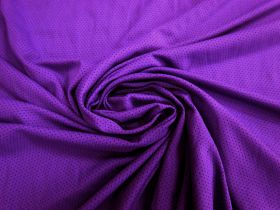 Great value Sports Eyelet Spandex Jersey- Vibrant Purple #5022 available to order online New Zealand