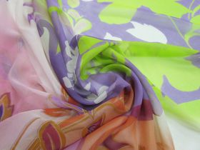 Great value 150cm Daydreamy Silk Georgette Panel #5029 available to order online New Zealand