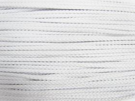Great value 5.5mm Cotton Cord- White #493 available to order online New Zealand