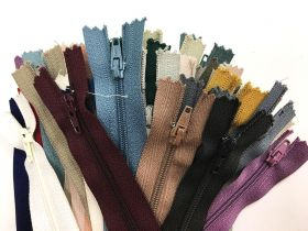 Great value Lucky Dip 40 Pack of Dress Zippers- 10cm+ available to order online New Zealand