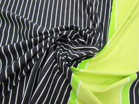 Great value Laser Light Stripe Spandex 68cm Panel- Lime #3147 available to order online New Zealand