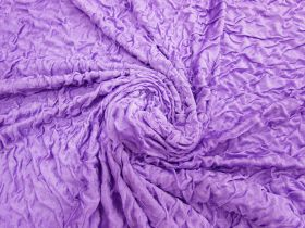 Great value Lightweight Crinkled Spandex- Purple Fizz #3151 available to order online New Zealand