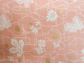 Great value Ruby Star Society Cotton- Whatnot- Potted- Peach #12M available to order online New Zealand