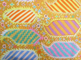 Great value Kaffe Fassett Striped Herald- Gold available to order online New Zealand