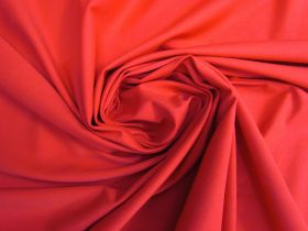 Great value Pura Cotton Spandex- Red #5083 available to order online New Zealand