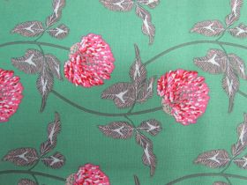Great value Anna Maria Horner Cotton- English Summer- Leaning- Jade available to order online New Zealand
