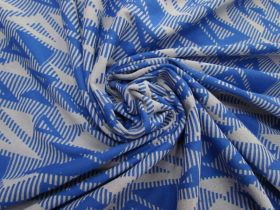 Great value Jazzy Triangles Jersey- Royal Blue #5095 available to order online New Zealand