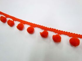 Great value Large Pom Poms- Orange available to order online New Zealand