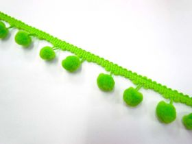 Great value Large Pom Poms- Lime available to order online New Zealand