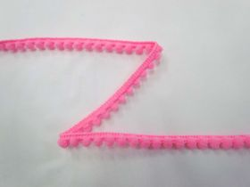 Great value Mini Pom Poms- Fluro Pink available to order online New Zealand