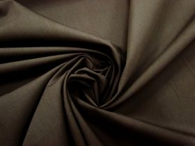 Great value Cotton Blend Poplin- Fudge #3272 available to order online New Zealand