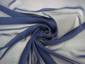 Great value Chiffon- Navy available to order online New Zealand