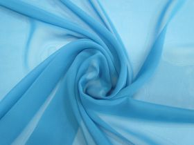 Great value Chiffon- Aqua available to order online New Zealand