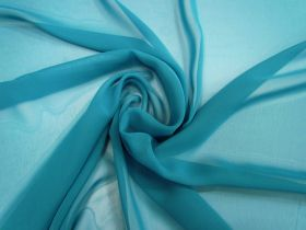 Great value Chiffon- Teal available to order online New Zealand