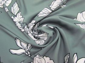 Great value Blossom Crepe- Grey #5112 available to order online New Zealand