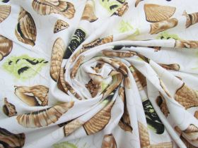 Great value *Seconds* Seashell Cotton Jersey- Green #5115- Reduced from $14.95m available to order online New Zealand