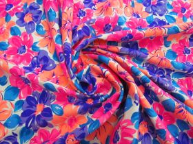 Great value Dizzy Daisy Cotton Jersey- Orange / Pink #5121 available to order online New Zealand