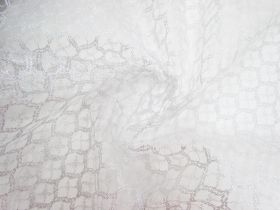 Great value Sparkling Silver Lace Tulle #3329 available to order online New Zealand