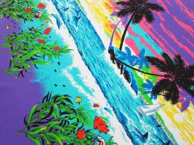 Great value 92cm Panel - Paradise Cotton Jersey #5124 available to order online New Zealand
