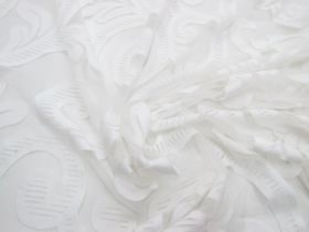 Great value Floral Frosts Lace Mesh #3354 available to order online New Zealand
