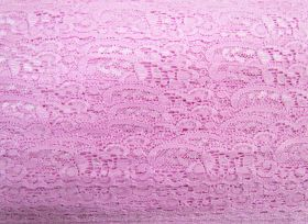 Great value 30mm Stretch Lace Trim- Rosey Pink #365 available to order online New Zealand