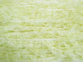Great value 20mm Frill Lace Trim- Sweet Lemon #381 available to order online New Zealand