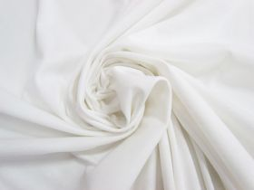 Great value Soft Interlock Jersey- Cosy White #5168 available to order online New Zealand