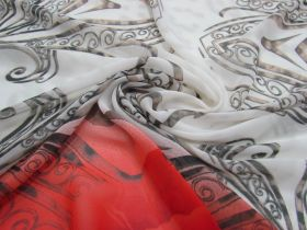 Great value Steel & Roses Chiffon #1382 available to order online New Zealand