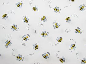 Great value Bumble Bee Cotton- White D#9715 available to order online New Zealand