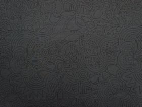 Great value Alison Glass Cotton- Sun Print 2020- Stitched #8450- Night available to order online New Zealand