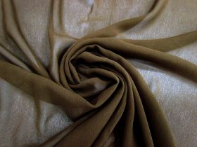 Great value Silk Blend Georgette- Earth Brown #3421 available to order online New Zealand