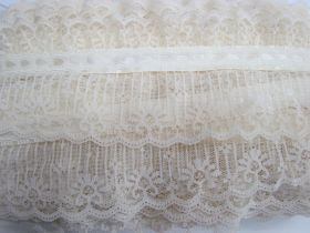 Great value Picket Fence Garden Lace- Antique Ivory #3432 available to order online New Zealand