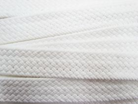 Great value Heavy Woven Belting- Milk White #3451 available to order online New Zealand