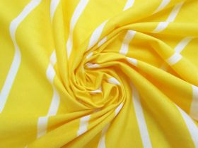 Great value Stripe Cotton Blend Knit-  Zesty Lemon #5197 available to order online New Zealand