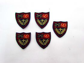 Great value Iron On Shield Motifs- 5 for $2 available to order online New Zealand
