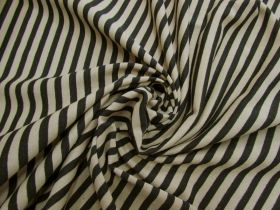 Great value Latte Stripe Cotton Knit #5204 available to order online New Zealand