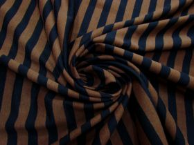 Great value Choc Liquorice Stripe Cotton Knit #5205 available to order online New Zealand