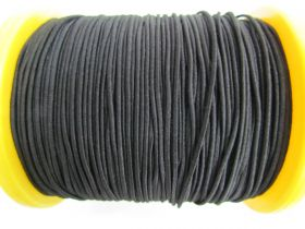 Great value 2mm Round Elastic- Black #500 available to order online New Zealand